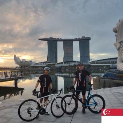 Stuart and Takeshi - Singapore
